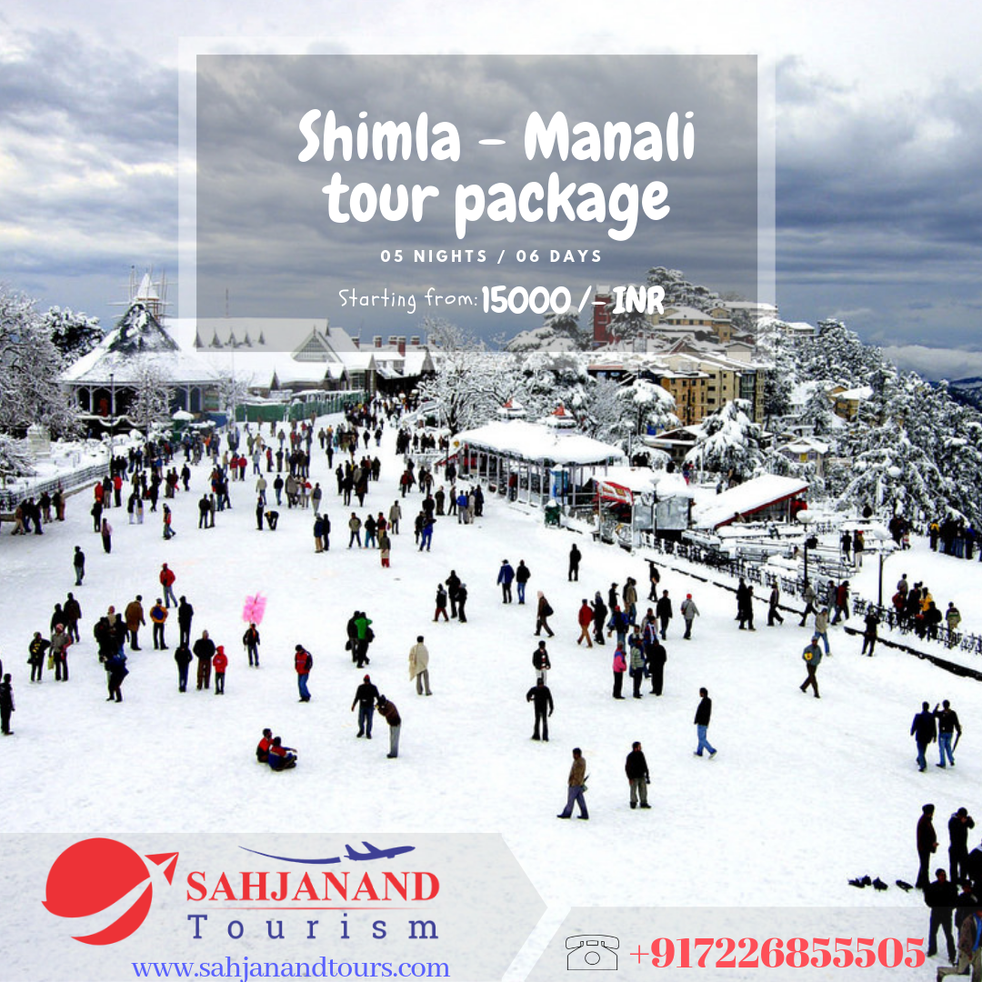 HIMACHAL PRADESH TOUR  5 NIGHTS / 6 DAYS