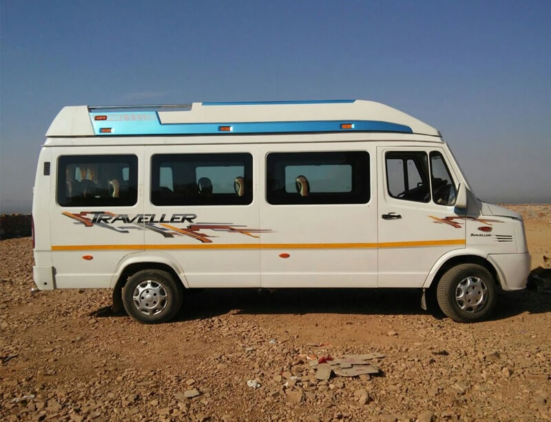 17 seat tempo traveler on hire