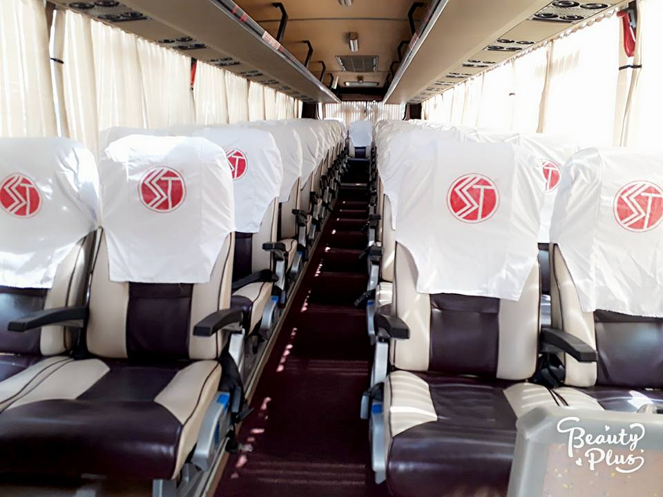 45 SEAT AC 2x2 bus on hire