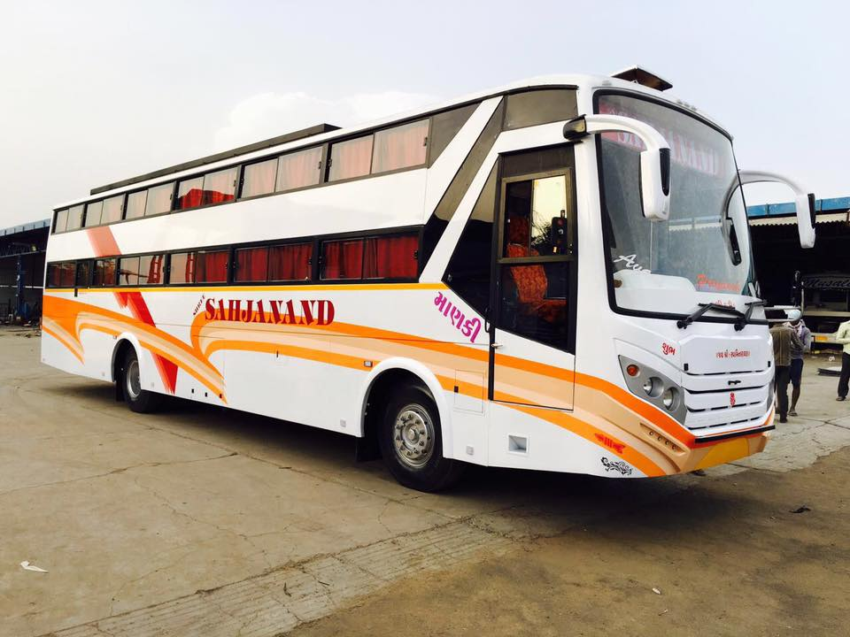 Luxury Bus AC Cab Services Ahmedabad