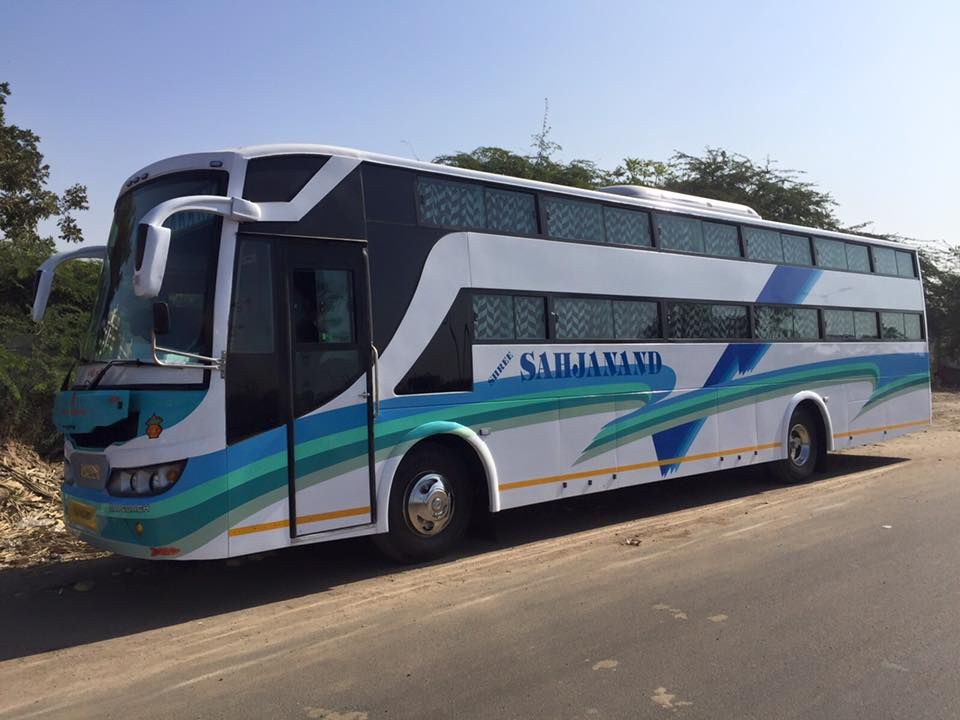 Ac bus hire ahmedabad