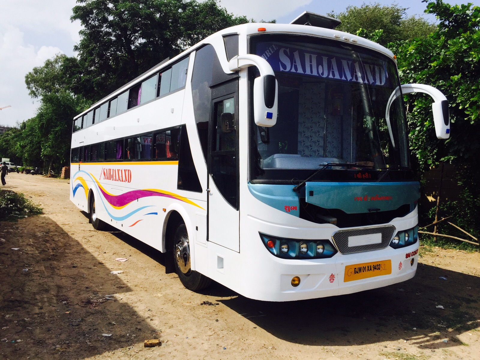 Seating Sleeper bus on Hire