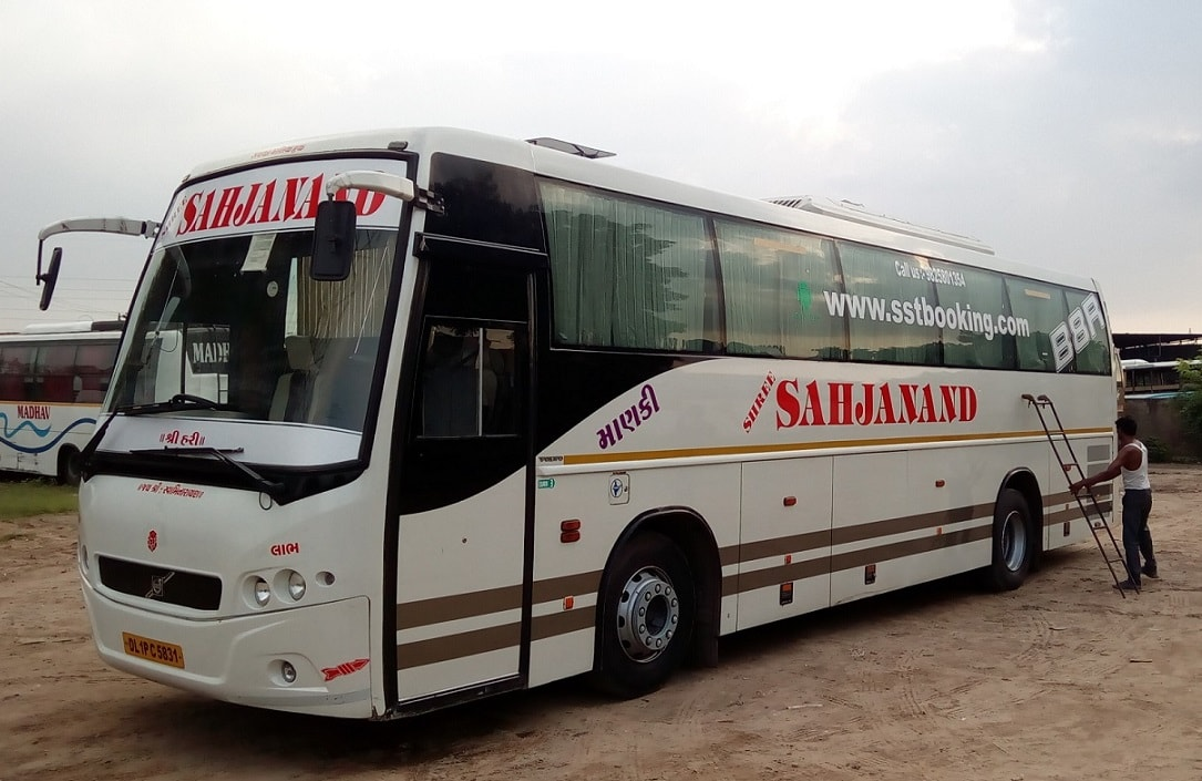 Volvo Seating Bus on Hire in ahmedabad