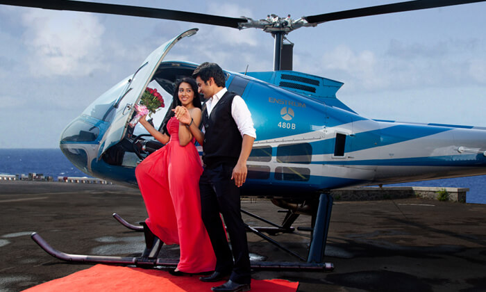 Helicopter Hire For Wedding