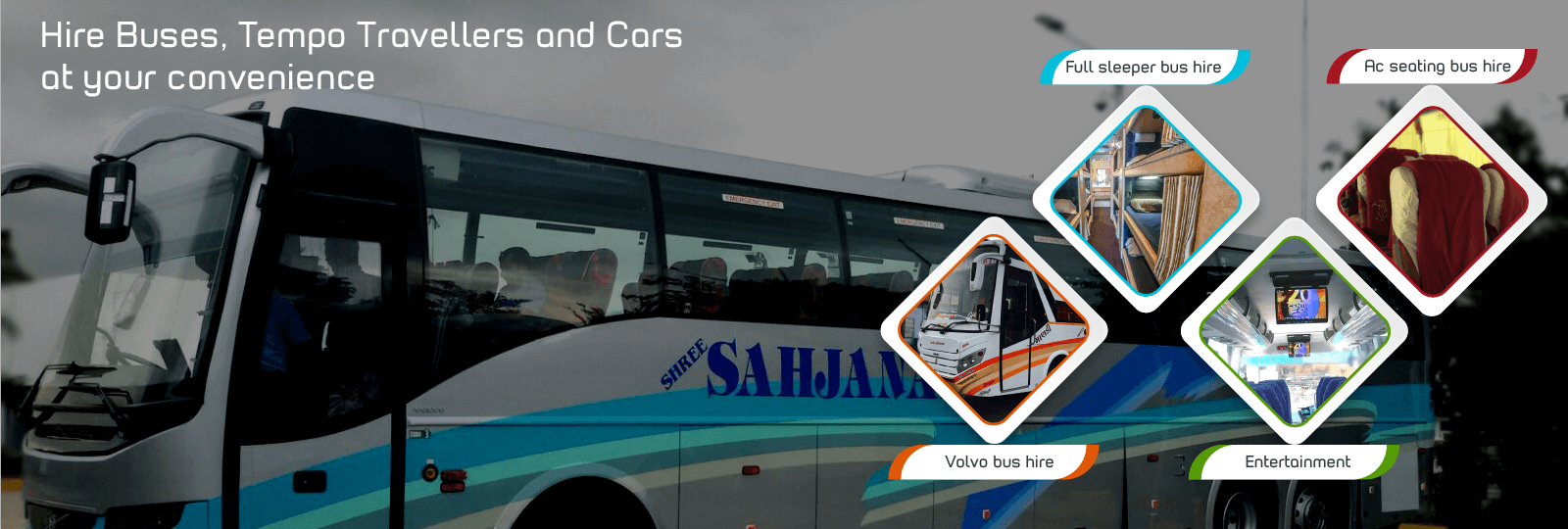 Bus Hire in ahmedabad