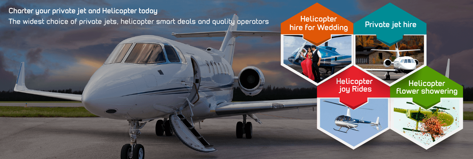 Private jet hire in ahmedabad